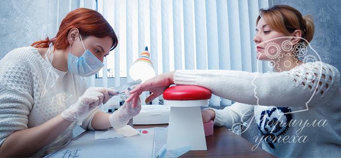 Современные техники в дизайне ногтей